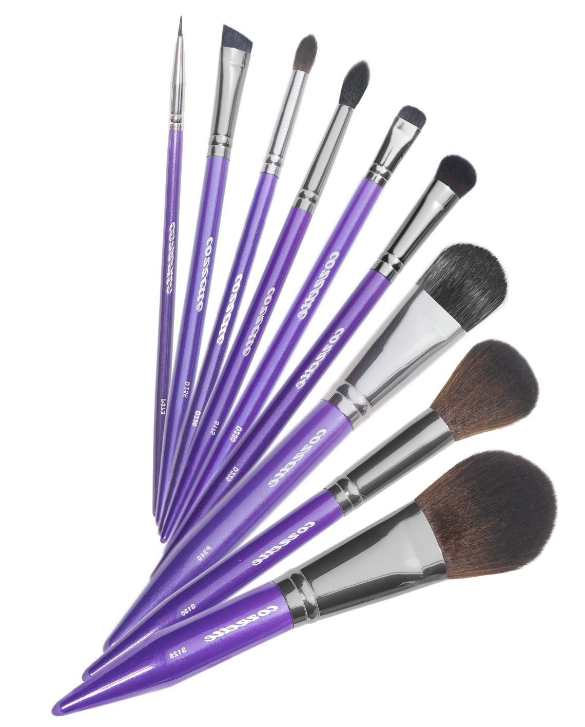 Purple Makeup Brush Set