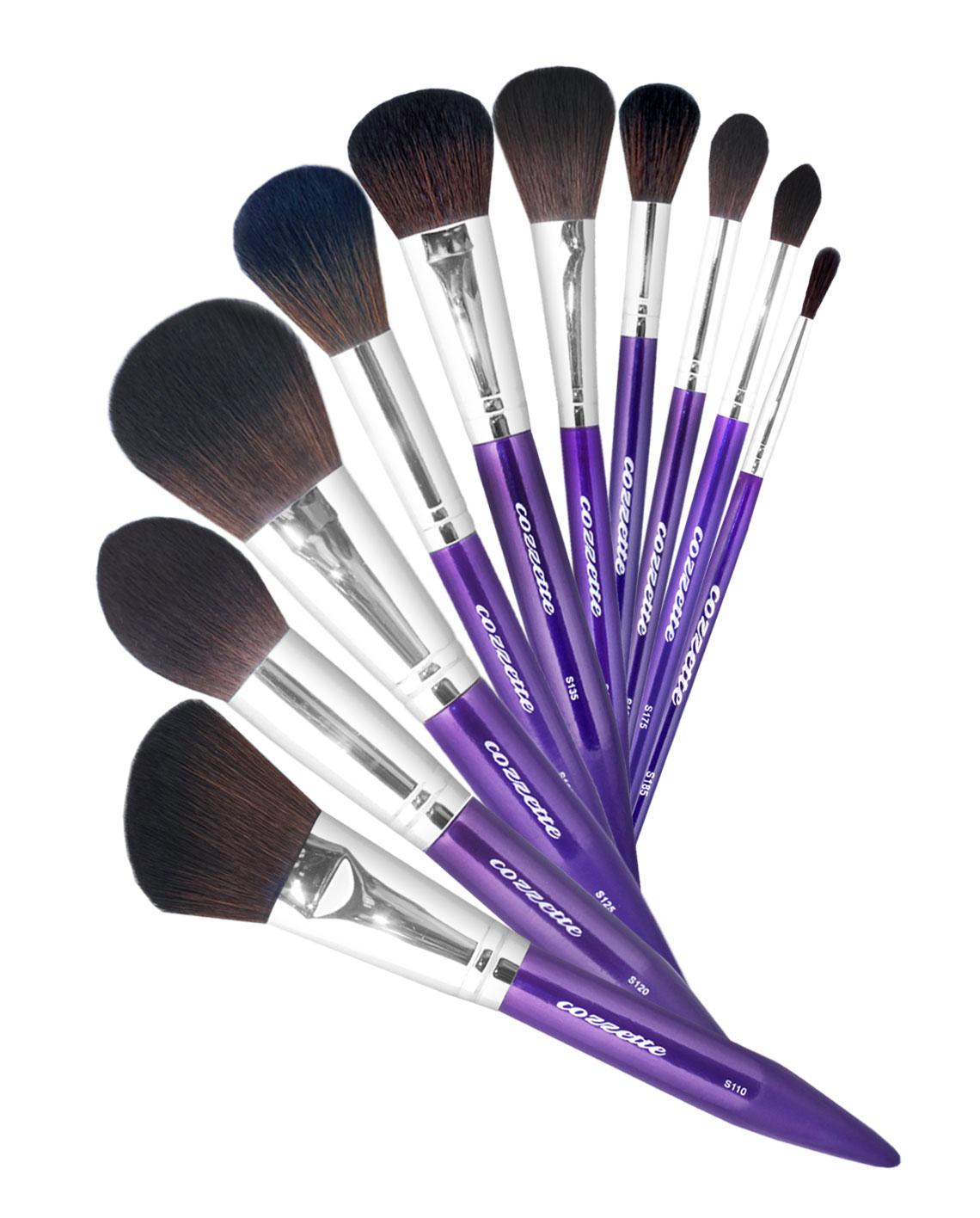 Cozzette Makeup Brush Set