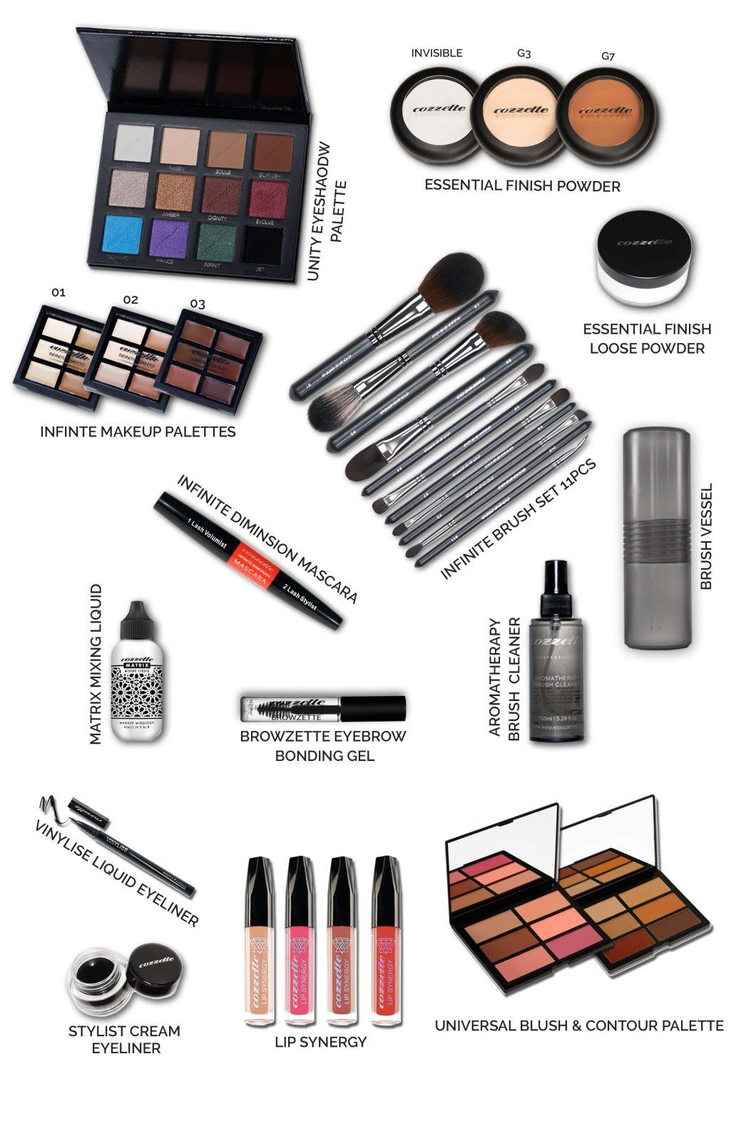 cozzette beauty school kit